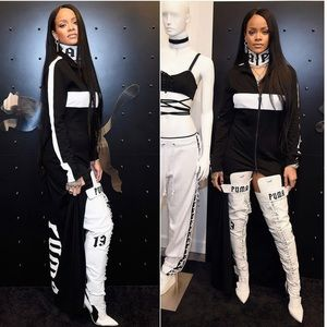 Puma Fenty by Rihanna Eskiva Over The Knee Boots
